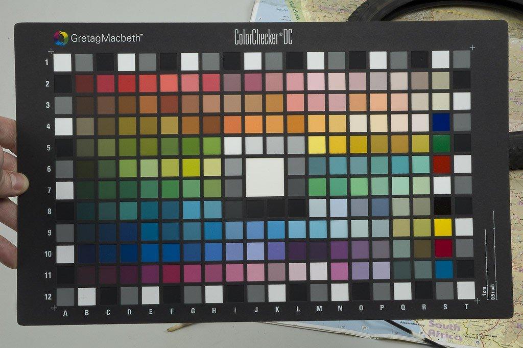 Gestión de color. Proceso de perfilado para cámaras