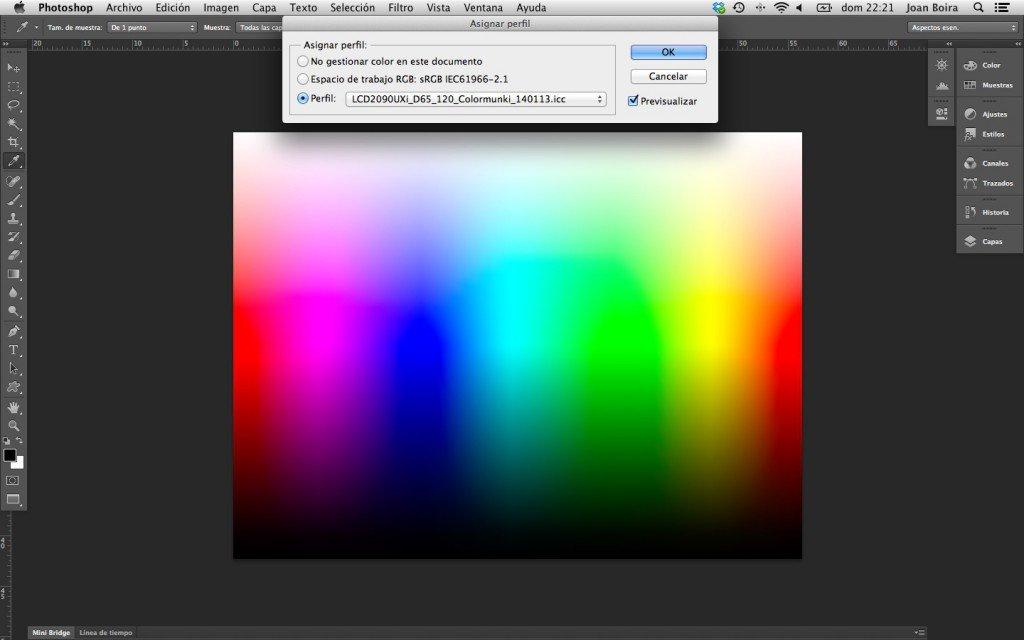 Cómo evaluar y comparar un perfil de forma visual