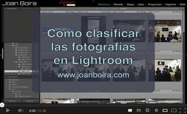 Lightroom: Clasificación de fotografías. Opciones y método
