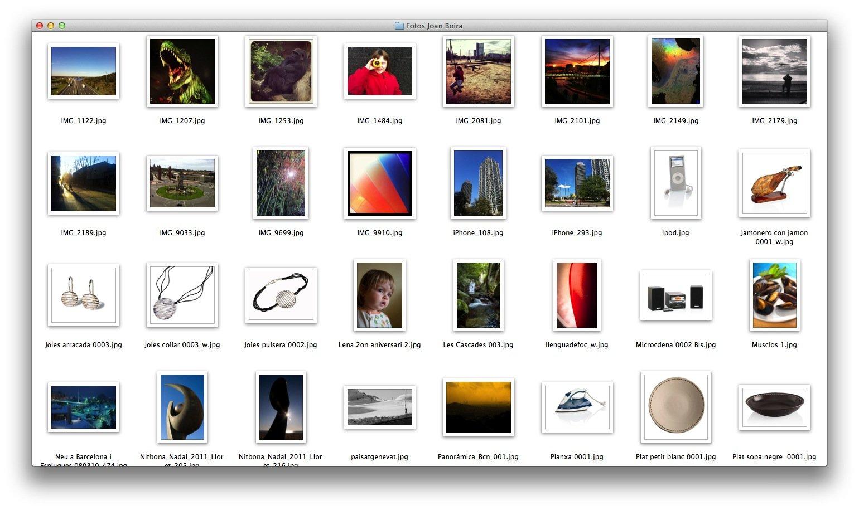 Organizar archivo fotográfico