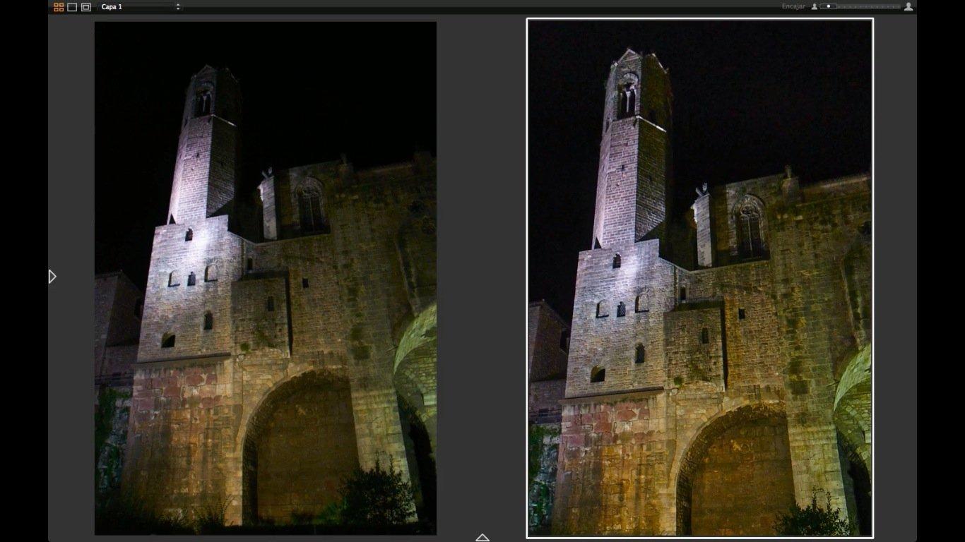 Cómo ajustar una fotografía nocturna con Capture One