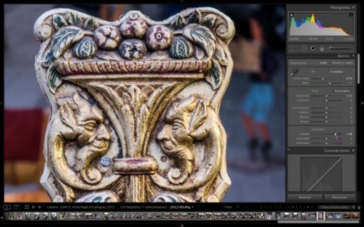 Curso particular Lightroom