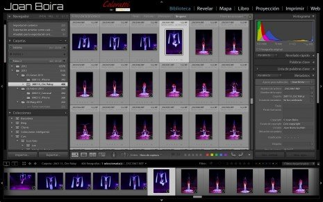 Curso archivo fotográfico con Lightroom