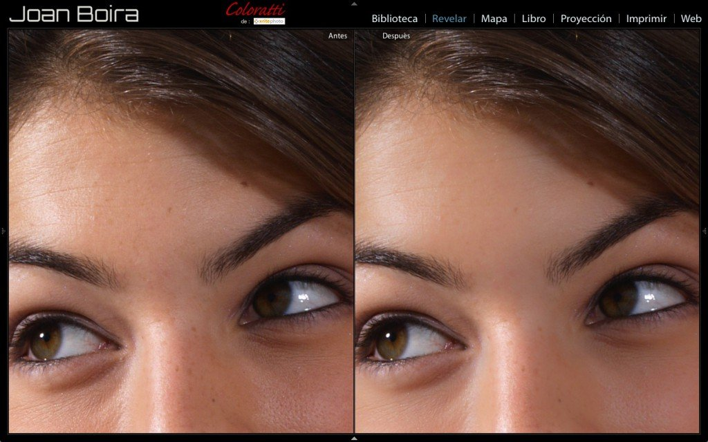Mejorar pieles con Pincel de ajuste de Lightroom. Pinceles para retrato (2)