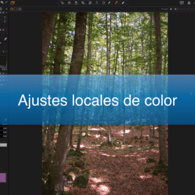 Ajustes locales de color Capture One