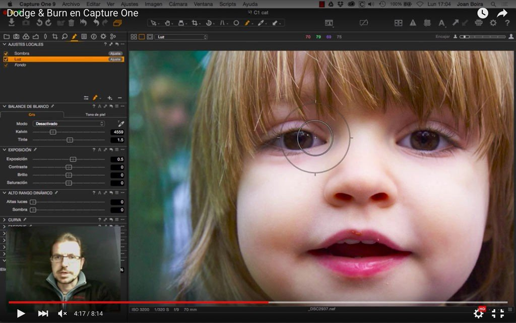 Dodge & Burn en Capture One