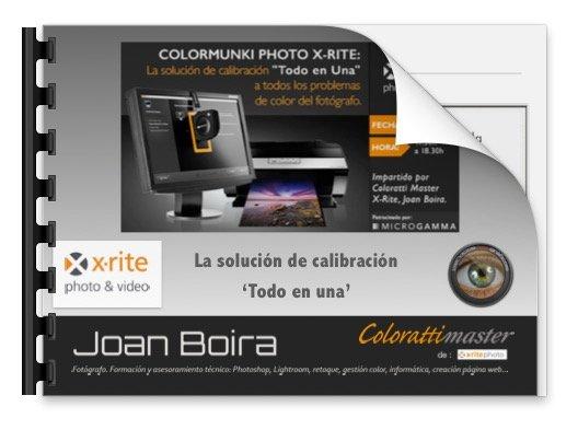 """La solución de calibración """"Todo en Uno"""" para todos los problemas del fotógrafo o aficionado"""
