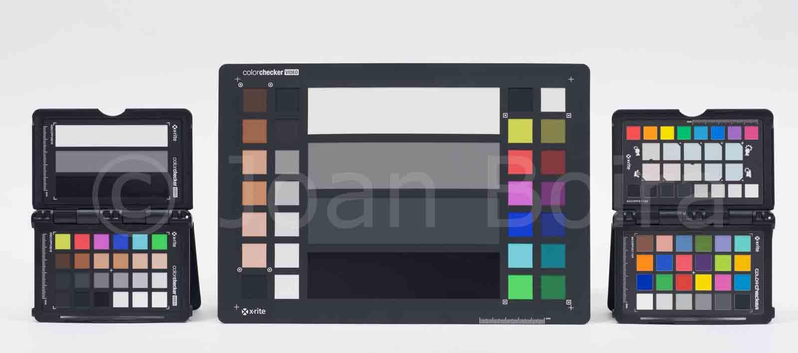 Cartas de color para ajustar el color en foto y vídeo