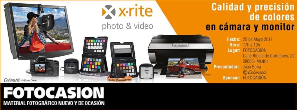 Calidad y Precisión de Colores en Cámara y Monitor con X-Rite