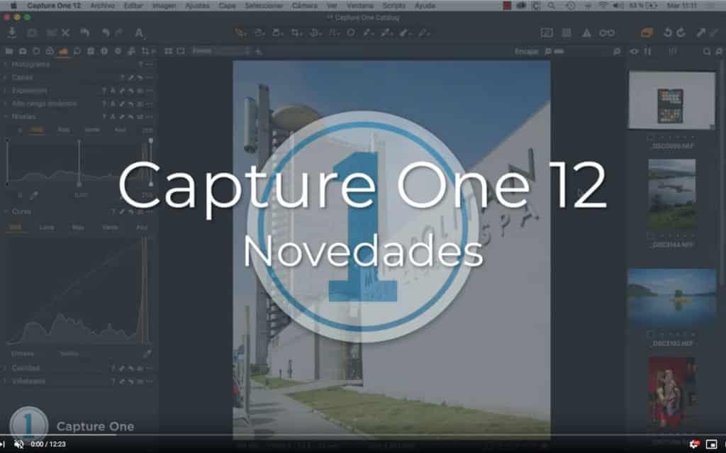 Novedades de Capture One 12