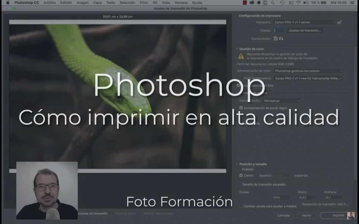 Cómo imprimir en alta calidad con Photoshop