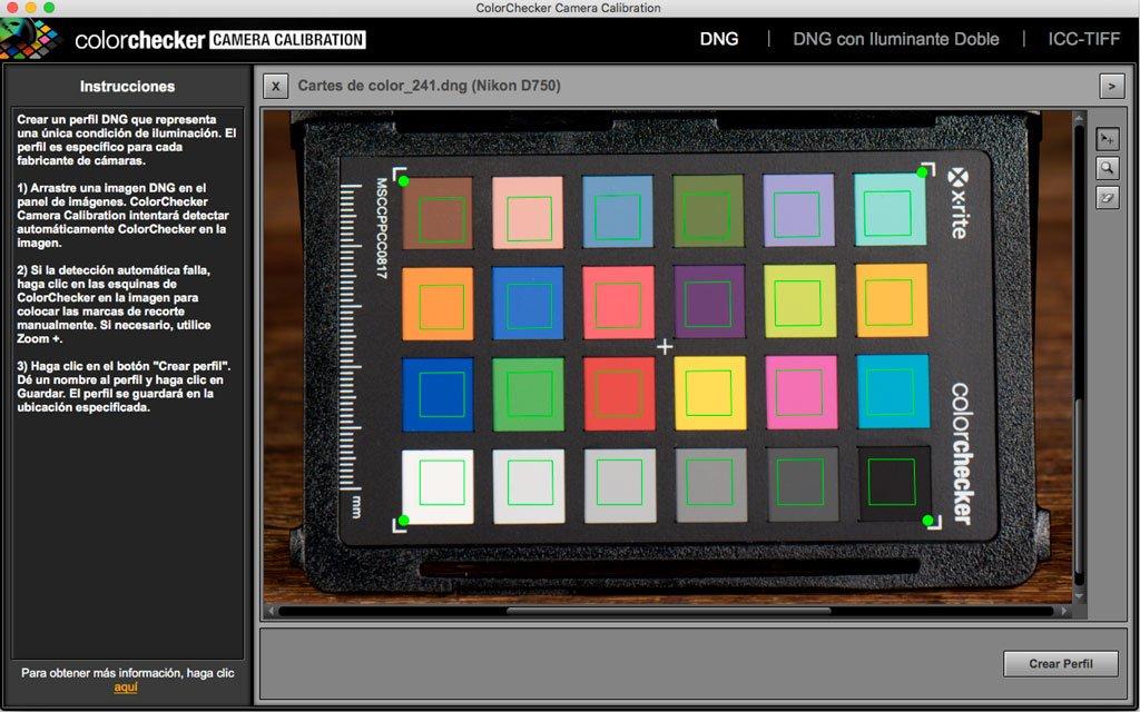 Colorchecker Camera Calibration v2