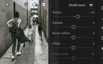 Nueva herramienta 'Textura' para las versiones de Lightroom y Camera Raw de Photoshop