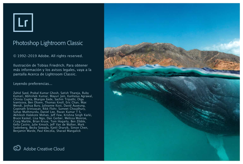 Novedades Lightroom Classic v9
