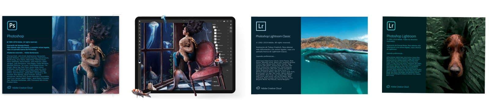 Novedades Photoshop 2020, Photoshop para iPad, Lightroom Classic 9, Lightroom 3