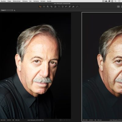 Curso de retrato con Capture One