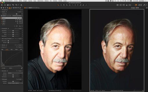 Curso de retrato con Capture One