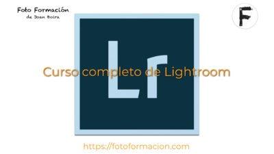 Curso completo online de Lightroom 2020