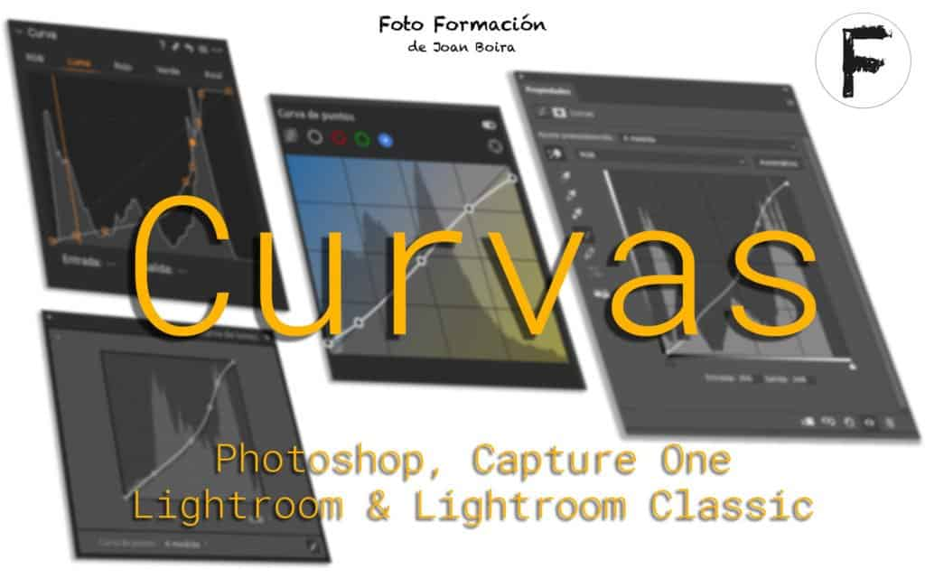 Curvas en Photoshop Lightroom CaptureOne