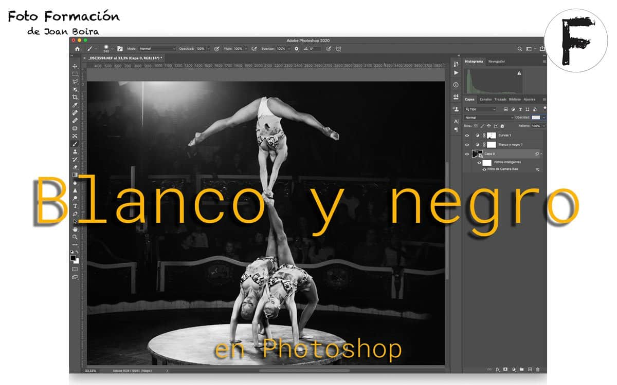 Blanco y negro en Photoshop