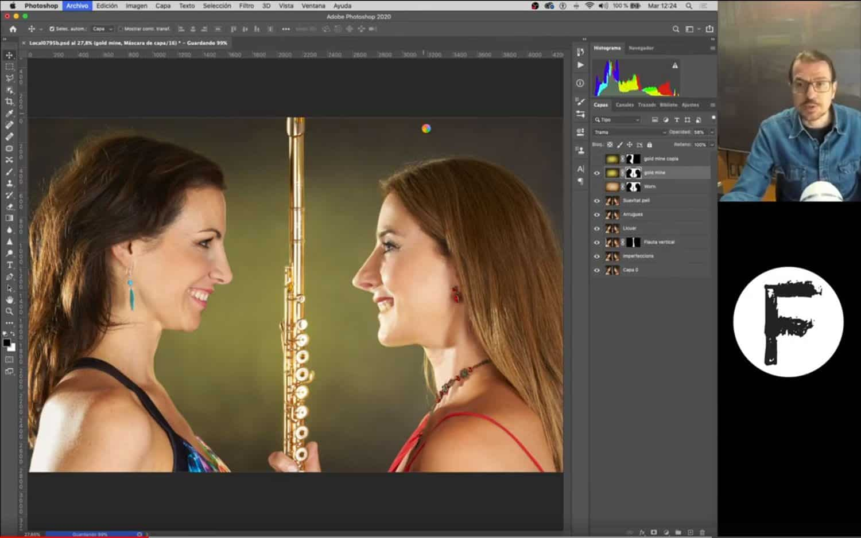 Cómo aplicar una textura a una foto o al fondo con Photoshop