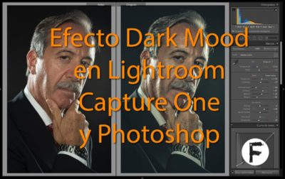 Efecto Dark Mood en Lightroom, Capture One y Photoshop