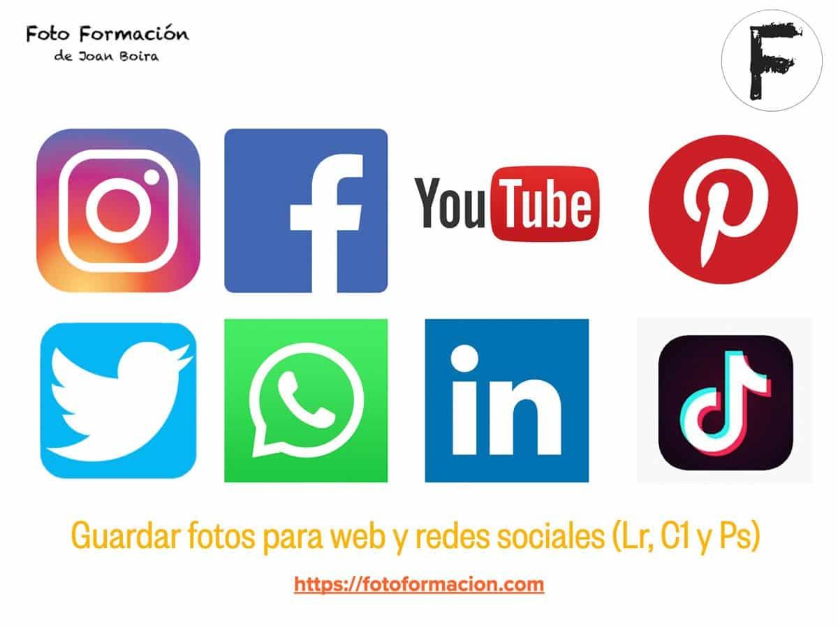 Guardar fotos para web y redes sociales (Lr, C1 y Ps) . #YoMeQuedoEnCasaFOTO
