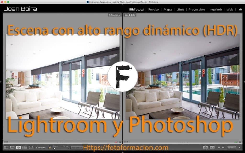 Cómo tratar una escena con alto rango dinámico (HDR). Lightroom y Photoshop