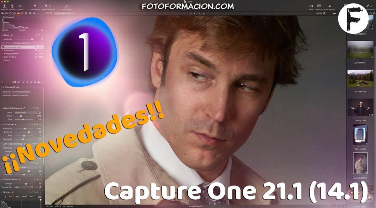 Nueva versión de Capture One 21.1. (14.1). Novedades