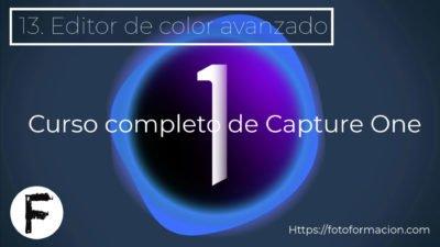 Capture One. Editor de color avanzado