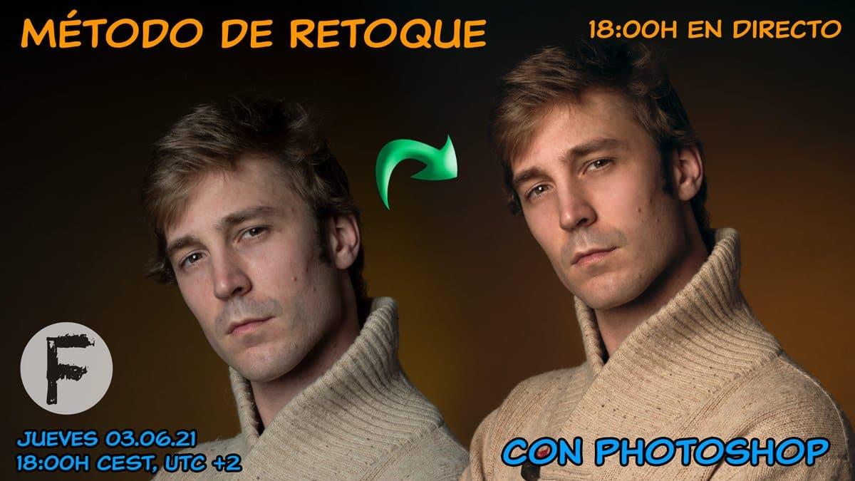Método de retoque de retrato con Photoshop