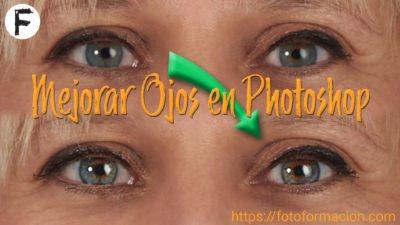Mejorar ojos en Photoshop