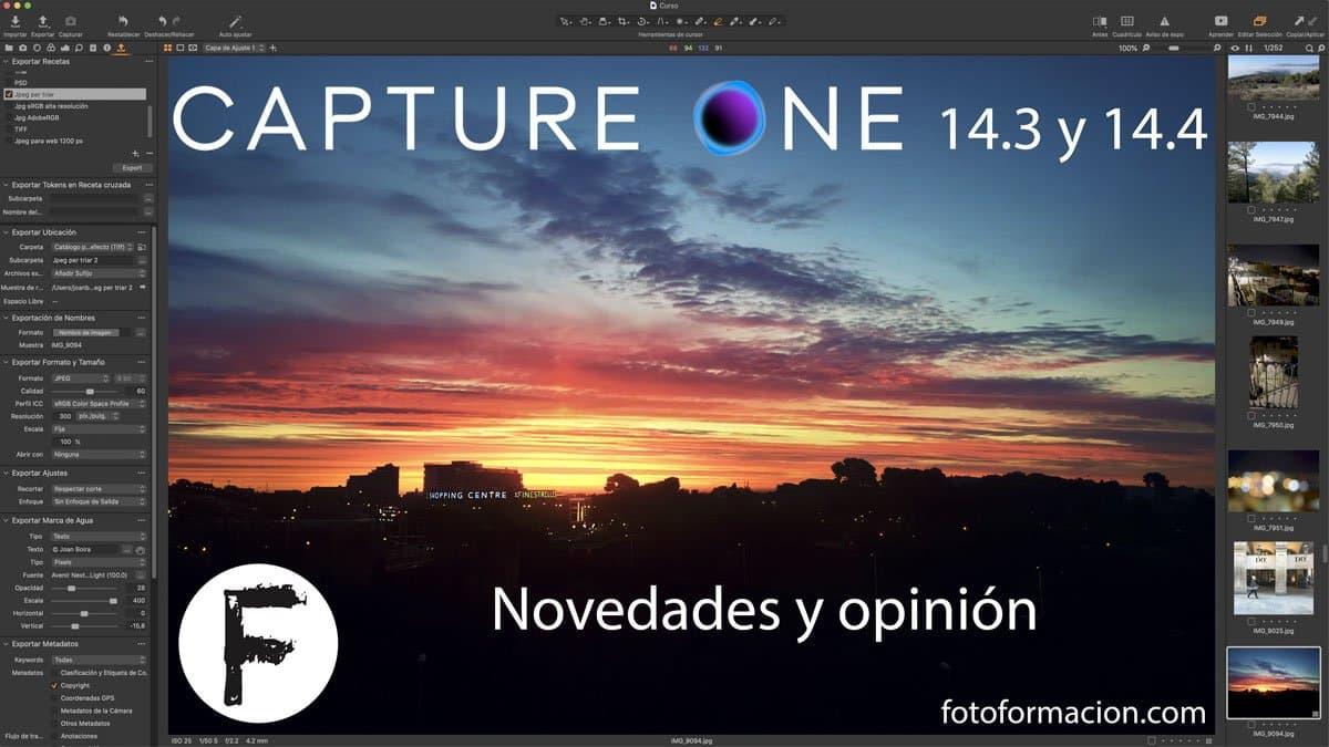 Capture One 14.3 y 14.4. Novedades y opinión